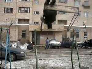 you swing me right round video shows russian youngster swing 360 degree motion on