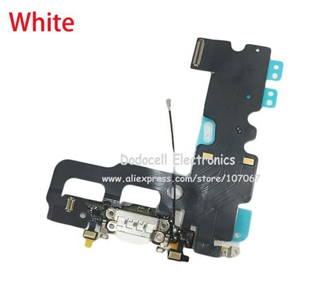 usb charging port flex cable for iphone 7 7g 7 plus usb dock connector charging port flex