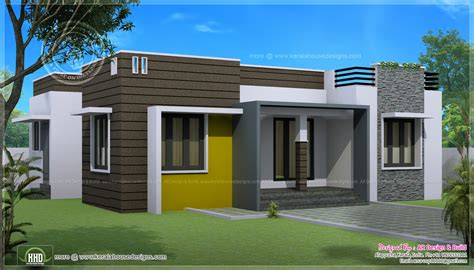 houses 1000 sq ft 1000 sq ft house with provision for stair and future expansion home kerala plans