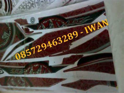 Striping Honda Beat Fi Batik Mega Mendung yamaha new jupiter mx 5 speed iwan striping stiker motor