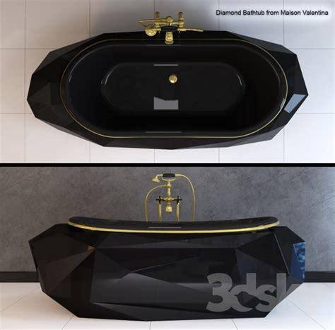 diamond bathtub 3d models bathtub bath diamond bathtub maison valentina