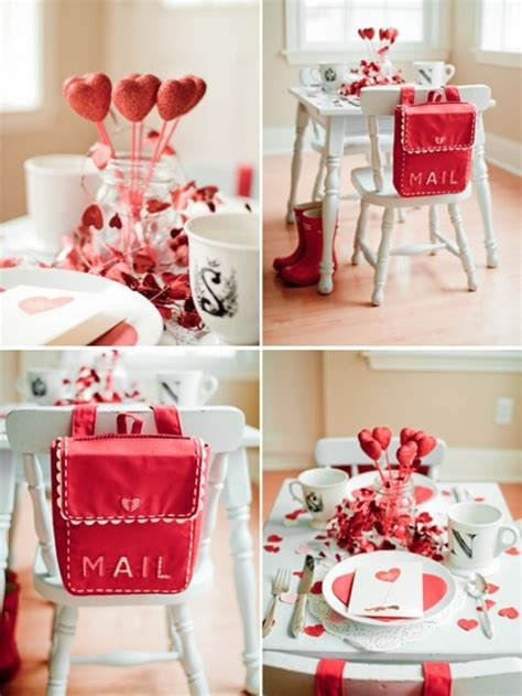 valentine day table decorations produce a romantic dinner by using easy valentines day