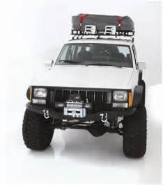 smittybilt xrc front bumper with winch plate xj