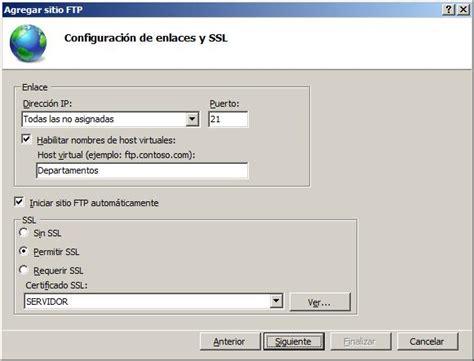 ftp default configuraci 243 n aulas en aplicaciones y servicios
