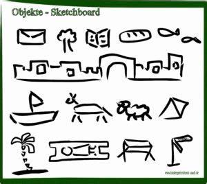 biblische figuren zeichnen sketchnotes sketchboard biblische geschichten malen