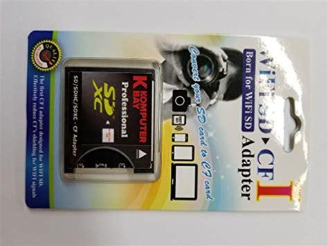 Memory Card Slim For 4 Sd Card komputerbay slim cf adapter sd sdhc sdxc wifi sd eyefi to