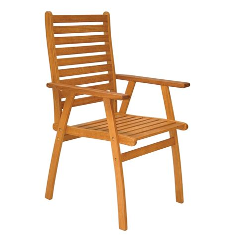 Patio Chairs Bunnings Mimosa Caver High Back Timber Chair Bunnings Warehouse