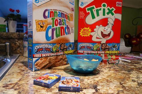 Cereal Sweepstakes - general mills brings skylanders prizes in your cereal box giveaway dad of divas