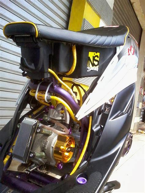 Tutup Bensin Kuda Grafir modifikasi motor mio soul racing