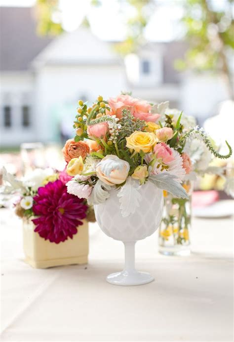 milk glass wedding centerpieces 17 best images about milk glass centerpieces on