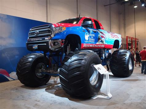 monster truck shows 2014 2014 sema show toyota monster trucks tinadh com