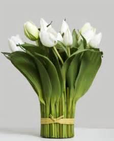 Tulip arrangement bundle white allissias attic amp vintage french style