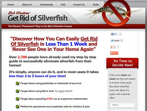 how do i get rid of silverfish in my bathroom bob haskins get rid of silverfish review and buyer s guide