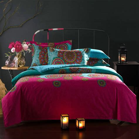 moroccan bedding set 20 27day delivery moroccan ethnic style cotton bedding set