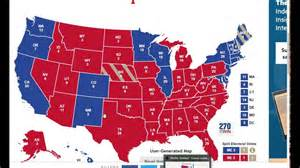 usa states voting map presidential electoral map 2016 prediction autos post