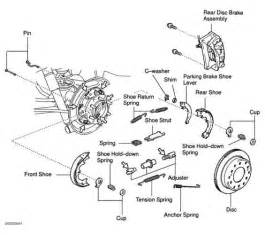 Toyota Land Cruiser Brake System Diagram Parking Brake Diagram Toyota