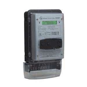 In Meter Ind Meters 3 Phase Ct Trivector Meter Electrical