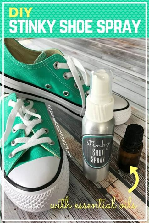diy shoe spray diy stinky shoe spray one essential community