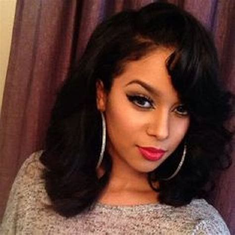 35 Simple But Beautiful Weave Hairstyles For Black Women   Hairstylo