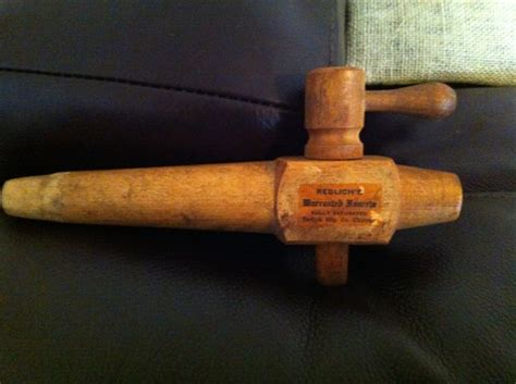 Wooden Faucet by Vintage Wooden Keg Tap Redlich S Warranted Faucets