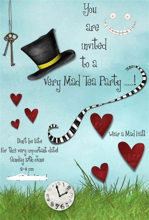 online tea party invitations surprise birthday invitations surprise