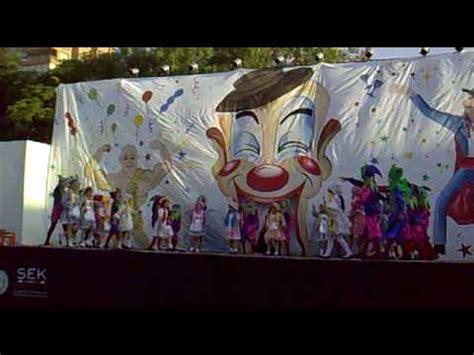 imagenes para telon para acto de fin de ao de jardin acto de fin de a 241 o 2009 quot el circo quot colegio sek youtube