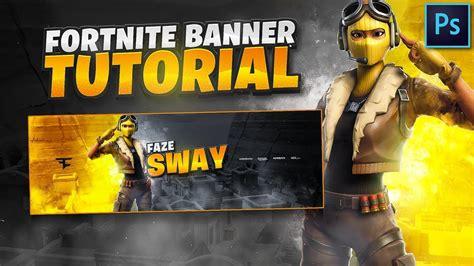 tutorial     epic fortnite banner  photoshop