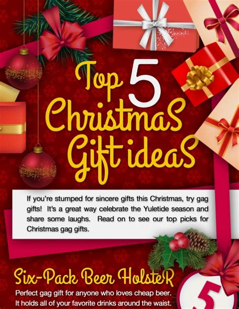top 5 christmas gift ideas