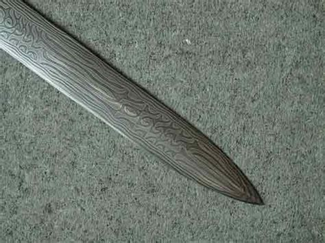 pattern welding tutorial composite pattern welded viking sword tutorial jake