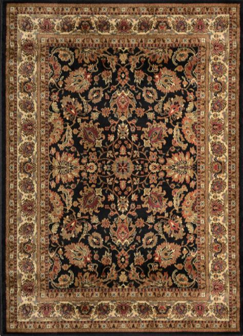 3x4 Area Rugs Black Oval Area Rug 3x4 Bordered Floral Carpet Actual 2 7 Quot X 4 2 Quot Ebay