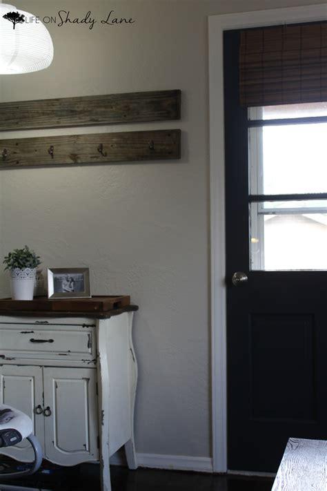 modern farmhouse door makeover