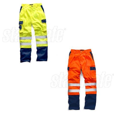 Jaket Polos Premium Two Tone hi vis viz safety two tone work wear joggers hoodie polo
