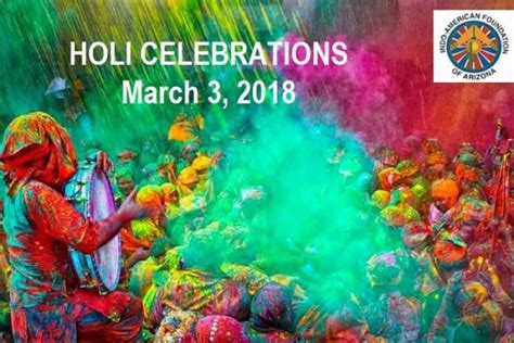 Holi 2018 Date In India Calendar Iacrfaz Holi Celebrations 2018 In Indo American