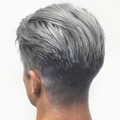Mens Dyed Hairstyles by A Guide To Silver Grey Hair For The Idle