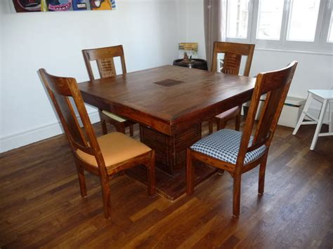 Chaises Coloniales by Chaises Coloniales Simple Table Chaises Coloniale Bois