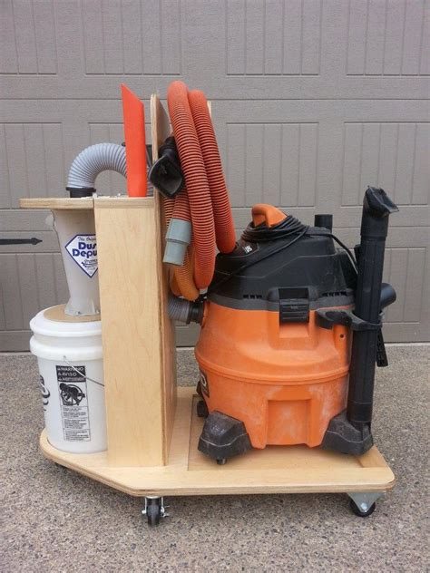 convert  shop vac   cyclone dust collector