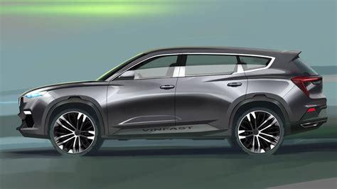 vinfast suv design render  italdesign car body design