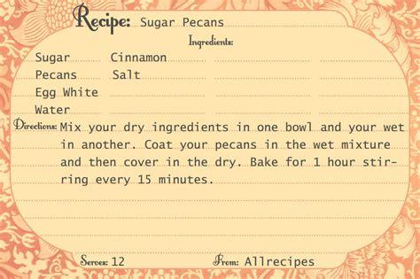 printable recipe cards call  victorian