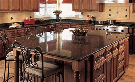 Kitchen Island With Granite Countertop by Granite Kitchen Island Pictures And Ideas
