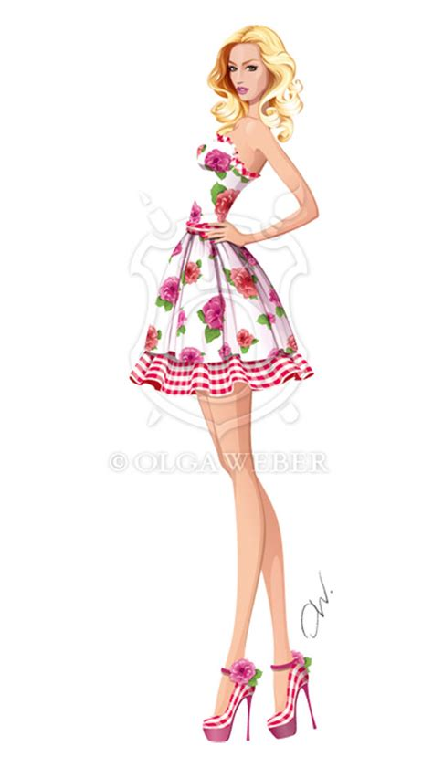 fashion illustration dress 30 stunning vector arts web graphic design bashooka