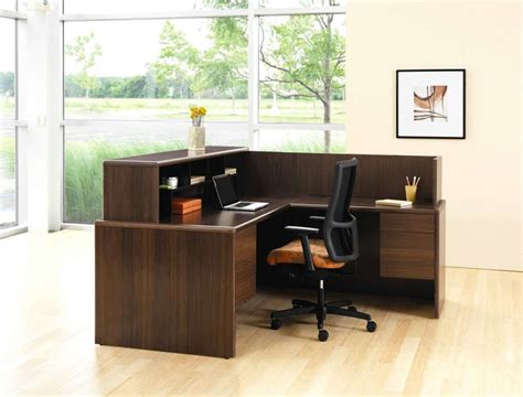 Contemporary Small Office Furniture Workstation Design of 10700 Series L Shaped Reception