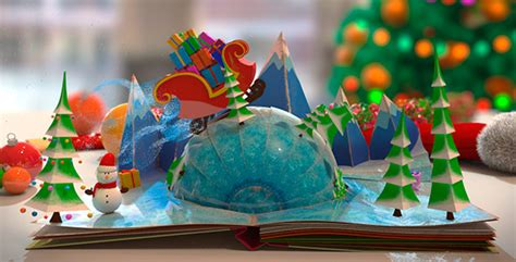 christmas pop up book by the yoshivara videohive