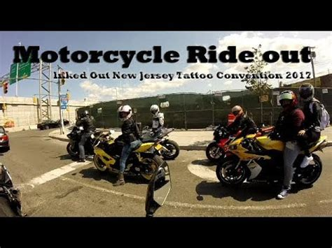 tattoo expo nj 2017 motorcycle ride out to the inked out nj tattoo convention