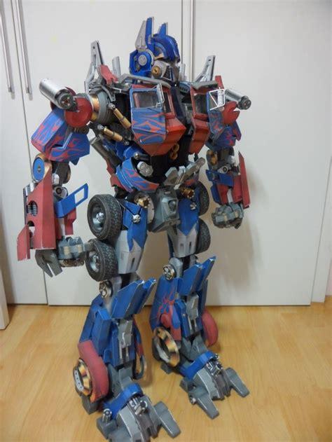 Optimus Prime Papercraft - optimus prime papercraft related keywords optimus prime