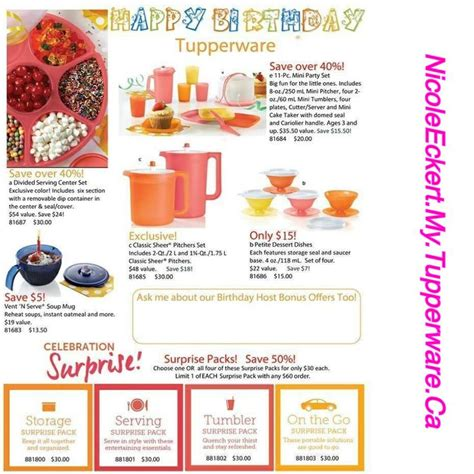 Tupperware Warmie Allegra Set tupperware specials car interior design