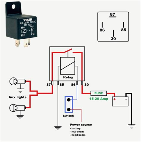 basic 12 volt wiring diagrams wiring diagram 2018