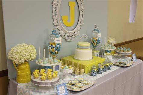 Baby Shower Decorations Yellow by 1000 Ideas About Yellow Baby Showers On Grey