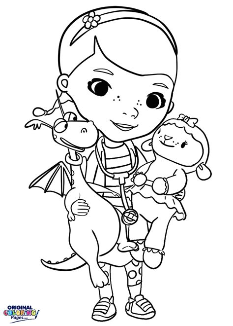 doc mcstuffins giant coloring pages coloring pages for doc mcstuffins coloring page