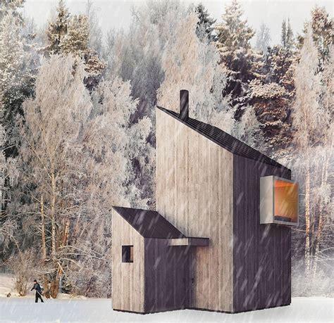 modern minimalism meets wooden warmth inside small winter modern minimalism meets wooden warmth inside small winter