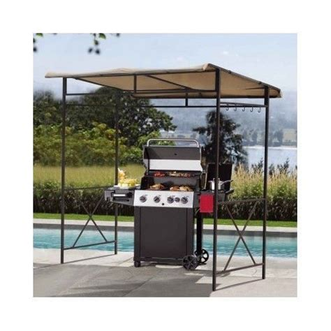 bbq awning tent backyards and patio grill on pinterest